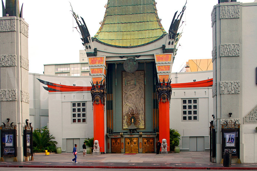 Grauman's Chinese Theater on Hollywood Boulevard, Hollywood, Los Angeles, California
