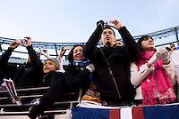 Argentina Fans. The USMNT tied Argentina, 1-1, at the New Meadowlands Stadium in East Rutherford, NJ.