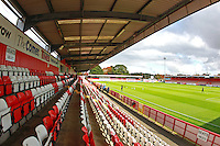 General view of the ground during Stevenage vs Carlisle United, Sky Bet EFL League 2 Football at the Lamex Stadium on 22nd October 2016