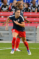 Chicago, IL - Saturday Sept. 24, 2016: Ali Krieger prior to a regular season National Women's Soccer League (NWSL) match between the Chicago Red Stars and the Washington Spirit at Toyota Park.