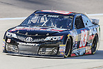 Sprint Cup Series driver Ryan Truex (83) in action during the Nascar Sprint Cup Series Duck Commander 500 practice at Texas Motor Speedway in Fort Worth,Texas.