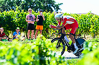 17th July 2021, St Emilian, Bordeaux, France;  LAPORTE Christophe (FRA) of COFIDIS during stage 20 of the 108th edition of the 2021 Tour de France cycling race, an individual time trial stage of 30,8 kms between Libourne and Saint-Emilion.