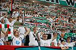 22.08.2019 Legia Warsaw v Rangers: Legia fans