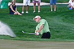 PALM BEACH GARDENS, FL. - John Rollins hits from the bunker during Round Three play at the 2009 Honda Classic - PGA National Resort and Spa in Palm Beach Gardens, FL. on March 7, 2009.