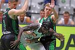 TDAYS EuroCup 2020-2021.Round 1.<br /> Joventut Badalona vs Partizan NIS Belgrado: 85-82.<br /> Conor Morgan, Rashawn Thomas &  Arturs Zagars.