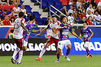 Harrison, NJ - Wednesday Aug. 03, 2016: Agustin Herrera during a CONCACAF Champions League match between the New York Red Bulls and Antigua at Red Bull Arena.