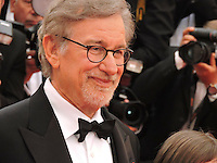 """FRA: """"THE BFG"""" Red Carpet- The 69th Annual Cannes Film Festival - Steven Spielberg attend """"THE BFG"""". Red Carpet during The 69th Annual Cannes Film Festival on May 14, 2016 in Cannes, France."""