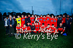 Tralee Dynamos celebrate after beating Killarney Athletic in the U17 Challenge Cup final