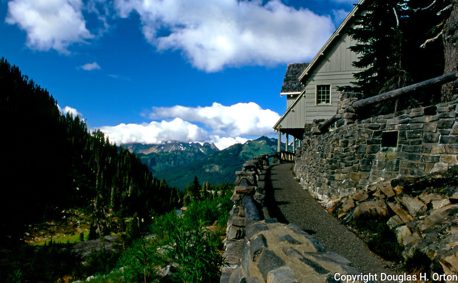 U.S. Forest Service Visitor Center at Mount Baker, Washington, USA