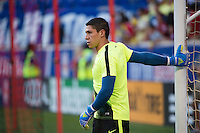 Harrison, NJ - Wednesday July 06, 2016: Hugo Gonzalez during a friendly match between the New York Red Bulls and Club America at Red Bull Arena.