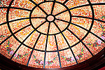 Stained Glass Ceiling, Michaels Restaurant, Las Vegas, Nevada