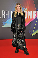"""Honor Swinton Byrne at the 65th BFI London Film Festival """"The Souvenir Part II"""" The Londoner gala, Royal Festival Hall, Belvedere Road, on Friday 08th October 2021, in London, England, UK. <br /> CAP/CAN<br /> ©CAN/Capital Pictures"""