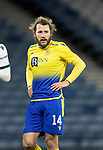 St Johnstone v Hibs…23.01.21   Hampden     BetFred Cup Semi-Final<br />Stevie May<br />Picture by Graeme Hart.<br />Copyright Perthshire Picture Agency<br />Tel: 01738 623350  Mobile: 07990 594431