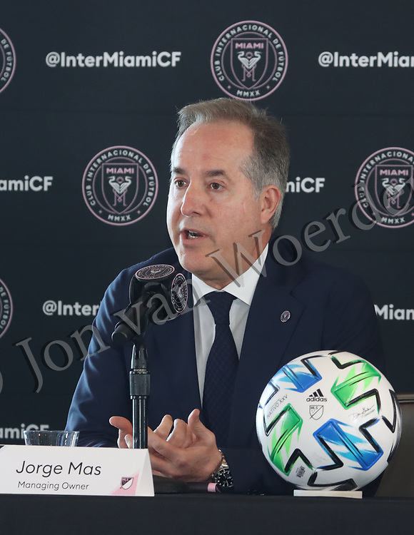 MLS Inter Miami CF, Jorge Mas