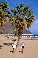 Spanien, Kanarische Inseln, Teneriffa, Playa de las Teresitas