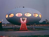 Futuro House, Philadelphia, 1969. Photo by John G. Zimmerman.