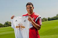 Thursday 24 July 2014<br /> Pictured: Jefferson Montero<br /> Re: Jefferson Montero signs for Swansea City