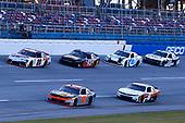 #9: Noah Gragson, JR Motorsports, Chevrolet Camaro Bass Pro Shops/TrueTimber Camo, #20: Harrison Burton, Joe Gibbs Racing, Toyota Supra DEX Imaging, #8: Daniel Hemric, JR Motorsports, Chevrolet Camaro Poppy Bank