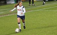 Angela Addison of Tottenham Hotspur during Tottenham Hotspur Women vs Aston Villa Women, Barclays FA Women's Super League Football at the Hive Stadium on 13th December 2020