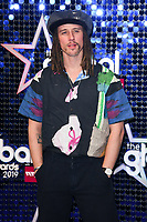 JP Cooper<br /> arriving for the Global Awards 2019 at the Hammersmith Apollo, London<br /> <br /> ©Ash Knotek  D3486  07/03/2019