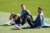 Manuel Neuer (Deutschland Germany), Bernd Leno (Deutschland Germany) - Seefeld 28.05.2021: Trainingslager der Deutschen Nationalmannschaft zur EM-Vorbereitung