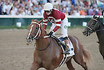 June 14, 2014: Tapiture and jockey Rosie Napravnik win the 17th running of the Matt Winn Grade 3 $100,000 at Churchill Downs for owner Winchell Thoroughbreds and trainer Steve Asmussen.  Candice Chavez/ESW/CSM