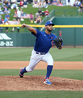 Tyson Miller - Chicago Cubs 2020 spring training (Bill Mitchell)