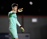 Manchester City U21's Cieran Slicker<br /> <br /> Photographer Chris Vaughan/CameraSport<br /> <br /> EFL Papa John's Trophy - Northern Section - Group E - Lincoln City v Manchester City U21 - Tuesday 17th November 2020 - LNER Stadium - Lincoln<br />  <br /> World Copyright © 2020 CameraSport. All rights reserved. 43 Linden Ave. Countesthorpe. Leicester. England. LE8 5PG - Tel: +44 (0) 116 277 4147 - admin@camerasport.com - www.camerasport.com