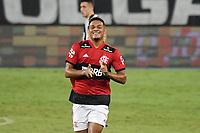 Rio de Janeiro (RJ), 24/03/2021 - Botafogo-Flamengo - Rodrigo Muniz jogador do Flamengo comemora seu gol,durante partida contra o Botafogo,válida pela 5ª rodada da Taça Guanabara,realizada no Estádio Nilton Santos (Engenhão), na zona norte do Rio de Janeiro,nesta quarta-feira (24).