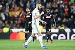 Real Madrid's Karim Benzema celebrates goal during Champions League 2016/2017 Round of 16 1st leg match. February 15,2017. (ALTERPHOTOS/Acero)