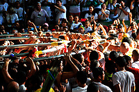 Círio 2015 - Tomadas Angência Basa. Av Presidente Vargas - Campina <br /> Foto: Mauro Ângelo/<br /> Belém, Pará, Brasil. <br /> Data: 11/10/2015.