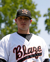 Zach Philllips - Bakersfield Blaze 2009.Photo by:  Bill Mitchell/Four Seam Images