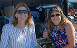 Geri and Tammy during the Nevada vs Weber State football game in Reno, Nevada on Saturday, Sept. 14, 2019.