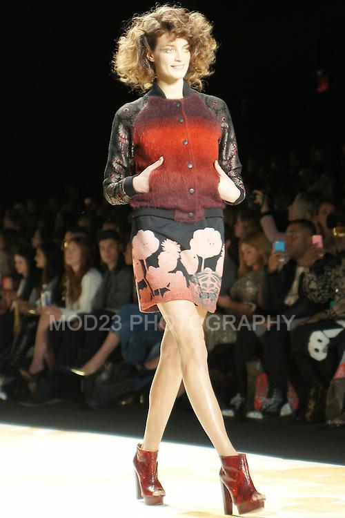 Diesigual Fall/Winter 2014, Mercedes-Benz Fashion Week, NYFW, New Fashion Week