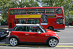 Mini carro. Londres. Inglaterra. 2008. Foto de Juca Martins.