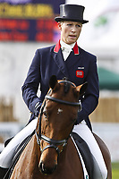 BOEKELO, NETHERLANDS - OCTOBER 15: Zara Philips, daughter of Princess Anne from the British Royal house, participated in the Military in Boekelo.  on October 15, 2010 in Boekelo Netherlands.<br /> <br /> People:   Zara Philips