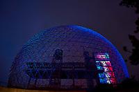 Montreal décoré aux couleurs du Canadien, juin 2021, durant les finales de la Coupe Stanley.<br /> <br /> PHOTO : Pierre Tran - Agence Quebec Presse