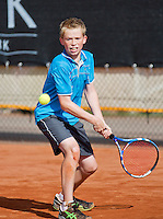 08-08-13, Netherlands, Rotterdam,  TV Victoria, Tennis, NJK 2013, National Junior Tennis Championships 2013,    Lars Kuipers<br /> <br /> <br /> Photo: Henk Koster
