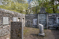 """BNPS.co.uk (01202) 558833. <br /> Pic: KnightFrank/BNPS<br /> <br /> Pictured: The mausoleum used by the Campbell family since it was built by Dugald Campbell in 1733.<br /> <br /> A castle that was burnt down by a pirate, involved in the English Civil War and has been in the same family for five centuries is on the market for offers over £650,000.<br /> <br /> Kilberry Castle, which dates back to the 15th century, has an incredible history and still has a wealth of original features including a 288-year-old mausoleum.<br /> <br /> It sits in 21 acres of land on the Scottish west coast, with stunning views over Kilberry Bay and out to the islands of Islay, Jura and Gigha.<br /> <br /> The four-storey tower house now needs a buyer """"with deep pockets and great imagination"""" to carry out a complete refurbishment but it has a lot of potential."""