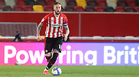 Pontus Jansson of Brentford in action during Brentford vs Birmingham City, Sky Bet EFL Championship Football at the Brentford Community Stadium on 6th April 2021