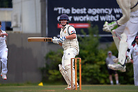 Action from day one of the Wellington men's Hazlett Trophy 2-Day cricket match between North City and Victoria University at Linden Park in Wellington, New Zealand on Saturday, 6 March 2021. Photo: Dave Lintott / lintottphoto.co.nz