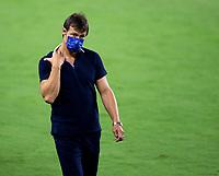 LOS ANGELES, CA - SEPTEMBER 02: San Jose Earthquakes head coach Matias Almeyda during a game between San Jose Earthquakes and Los Angeles FC at Banc of California stadium on September 02, 2020 in Los Angeles, California.