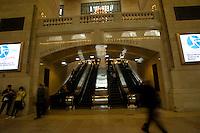NEW YORK-NY-02-05-2012. La estación Grand Station en Nueva York. Grant Central Station in New York City. (Photo: VizzorImage/Luis Ramirez).......