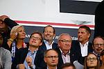 Belgie, Brugge, 26 augustus 2015<br /> Champions League play offs<br /> Seizoen 2015-2016<br /> Club Brugge-Manchester United (0-4)<br /> Danny Blind, trainer-coach van het Nederlands Elftal zit op de tribune