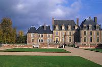Europe/France/Centre/45/Loiret/Sologne/La Ferté-Saint-Aubin : Le château en briques et chaînages de pierre (XVII° siècle)