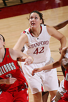 STANFORD, CA - DECEMBER 13:  Sarah Boothe of the Stanford Cardinal during Stanford's 100-62 win over the Fresno State Bulldogs on December 13, 2008 at Maples Pavilion in Stanford, California.