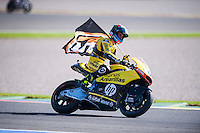 VALENCIA, SPAIN - NOVEMBER 8: Alex Rins during Valencia MotoGP 2015 at Ricardo Tormo Circuit on November 8, 2015 in Valencia, Spain