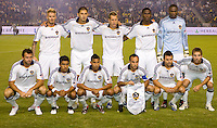 Western Conference Final LA Galaxy starting eleven. The LA Galaxy defeated the Houston Dynamo 2-1 to win the MLS Western Conference Final at Home Depot Center stadium in Carson, California on Friday November 13, 2009.....