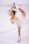 Mana Kawabe of Japan competes in Advanced Novice Girls group during the Asian Open Figure Skating Trophy 2017 on August 03, 2017 in Hong Kong, China. Photo by Marcio Rodrigo Machado / Power Sport Images