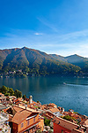 Italy, Lombardia, Carate Urio: village on the West Banks of Lake Como with church Santi Quirico e Giulitta | Italien, Lombardei, Carate Urio: kleine Gemeinde am Westufer des Comersees mit der Kirche Santi Quirico e Giulitta